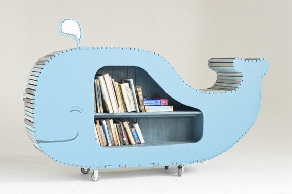 Scaffale Libreria Per Bambini : Scaffale per letto a castello bambini l originale tidy books